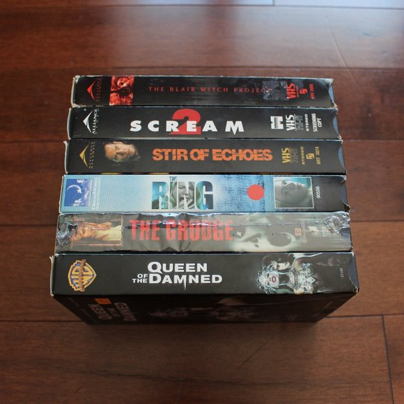 Classic Mystery/Horror VHS Films (3/$18.00)